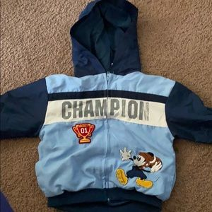 Mickey Mouse Zip up Jacket